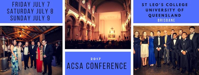 ACSA Conference 2017 - Catholic Collective