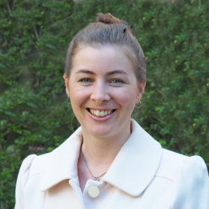 Communications Officer, Michaela Pang